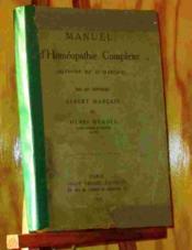 Manuel D'Home¿opathie Complexe - Me¿thode Du Dr Marc¿ais - Couverture - Format classique