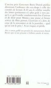 L'Orgie Echevelee - 4ème de couverture - Format classique