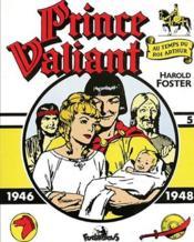 Prince Valiant t.5 ; 1946-1948 - Couverture - Format classique
