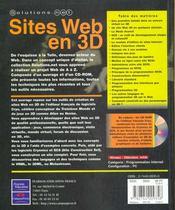 Solutions.Net Site Web En 3d - 4ème de couverture - Format classique