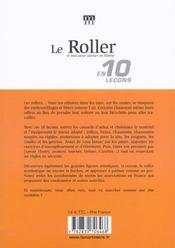 Roller (Le) - 4ème de couverture - Format classique