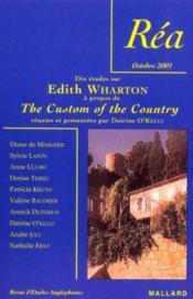 Edith Wharton ; 10 Etudes A Propos De The Custom Of The Country - Couverture - Format classique