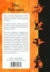Fetez halloween - 4ème de couverture - Format classique