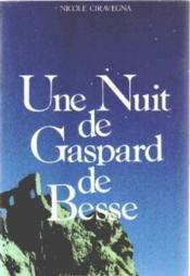 Une Nuit De Gaspard De Besse - Couverture - Format classique