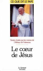 Le coeur de Jésus - Couverture - Format classique