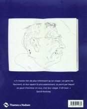 David Hockney : portraits de famille - 4ème de couverture - Format classique