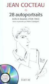Jean Cocteau ; 28 autoportraits ; écrits et déssines (1928-1963) - Intérieur - Format classique