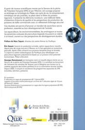 Le paraha peue ou platax orbicularis ; biologie, puche, aquaculture et marche - 4ème de couverture - Format classique
