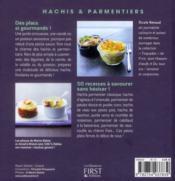 Hachis & parmentiers - 4ème de couverture - Format classique