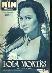 Film Complet N° 561 - Lola Montes - Couverture - Format classique