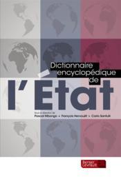 Dictionnaire encyclopédique de l'Etat - Couverture - Format classique