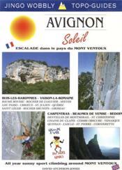 Avignon soleil, escalade pays mt ventoux - Couverture - Format classique