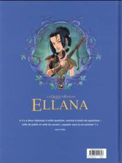 La quête d'Ewilan - Ellana T.1 ; enfance - 4ème de couverture - Format classique