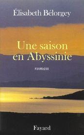 Une saison en abyssinie - Intérieur - Format classique