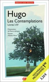 Les contemplations livre I-IV - Couverture - Format classique