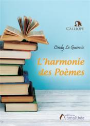 L'harmonie des poèmes - Couverture - Format classique