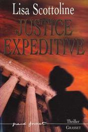 Justice expeditive - Intérieur - Format classique
