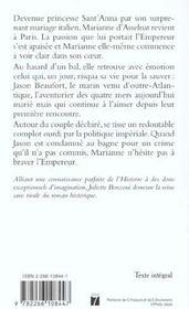 Marianne t.3 ; Jason des quatre mers - 4ème de couverture - Format classique