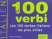 100 verbi ; les 100 verbes italiens les plus utiles - Intérieur - Format classique