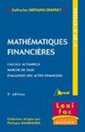 Mathematiques financieres - Intérieur - Format classique