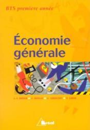 Economie generale bts premiere annee - Couverture - Format classique