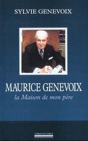 Maurice genevoix - Intérieur - Format classique