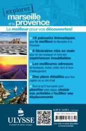EXPLOREZ ; Marseille et la Provence (édition 2016) - 4ème de couverture - Format classique
