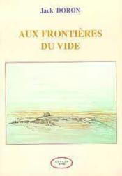Aux Frontieres Du Vide - Couverture - Format classique