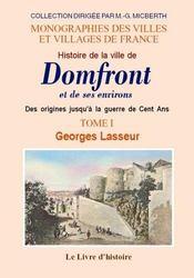 Domfront (histoire de la ville de) et ses environs. t.i - Intérieur - Format classique