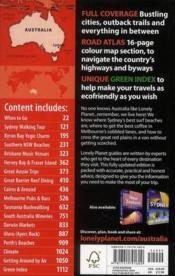 Australia (15e édition) - 4ème de couverture - Format classique