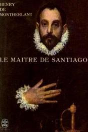 Le maître de Santiago - Couverture - Format classique