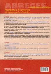 Parasitoses et mycoses des zones tempérées et tropicales (2e édition) - 4ème de couverture - Format classique