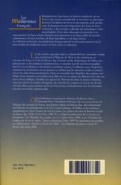 Institutions et pouvoirs en France ; XIV-XV siècles - 4ème de couverture - Format classique