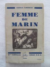 Femme de marin - Couverture - Format classique