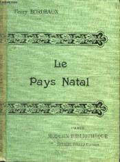 Le Pays Natal. - Couverture - Format classique