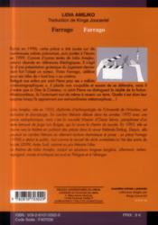 Farrago - 4ème de couverture - Format classique