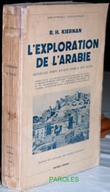 L'Exploration de l'Arabie depuis les temps anciens jusqu'à nos jours. - Couverture - Format classique