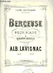 Berceuse Pour Piano A Quatre Mains - Couverture - Format classique