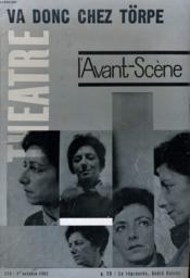 L'Avant-Scene - Theatre N° 273 - Va Donc Chez Törpe - La Reprouvee, Andre Ransan - Couverture - Format classique