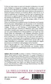 Anthropologie de l'exclusion ou l'exil de la condition humaine - Couverture - Format classique