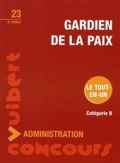 Gardien de la paix (6e édition) - Intérieur - Format classique