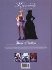 La rose écarlate - missions T.3 ; la dame en rouge t.1 - 4ème de couverture - Format classique