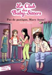 Le Club des Baby-Sitters T.4 ; pas de panique, Mary Anne ! - Couverture - Format classique