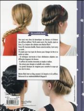 Coiffures trop belles pour cheveux rebelles - 4ème de couverture - Format classique