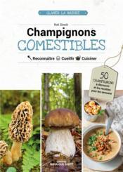 Champignons comestibles - Couverture - Format classique