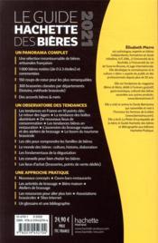 Le guide Hachette des bières ; 1000 bières artisanales, 300 brasseries, 150 coups de coeur (édition 2021) - 4ème de couverture - Format classique