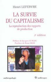 La survie du capitalisme ; 2e edition - Intérieur - Format classique