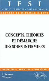 Concepts Theories Et Demarche Des Soins Infirmiers - Intérieur - Format classique