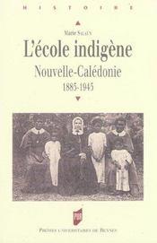 Ecole indigene - Intérieur - Format classique