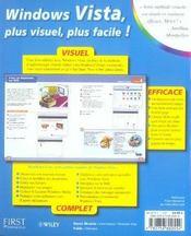 Apprendre windows vista - 4ème de couverture - Format classique